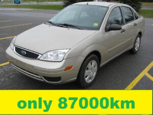 2007 Ford Focus Sedan Safety E-tested only 87000km price $3700
