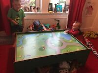Toy train table