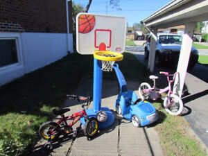 Bikes, Litte Tikes BB net, Push Car