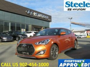 2016 HYUNDAI VELOSTER Turbo Navigation leather sunroof loaded! c