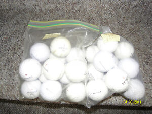 Used golf balls mixed name brands. Available 10 dozens