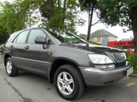 LEXUS RX 300 3.0 AUTO SE COMPLETE WITH M.O.T HPI CLEAR INC WARRANTY