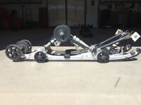 Yamaha 144'' skid and track