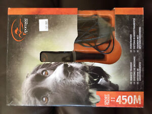 Canine remote trainer
