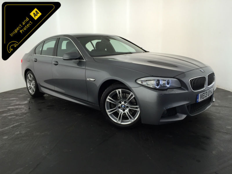 2013 BMW 520D M SPORT AUTOMATIC 4 DOOR SALOON 1 OWNER SERVICE HISTORY FINANCE PX