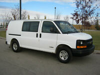 2006 CHEVROLET EXPRESS 2500 CARGO VAN ONLY $6900 READY TO WORK
