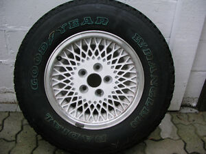 Jeep Cherokee wheel & tire with cover