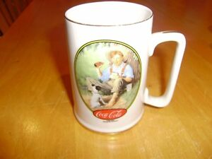 COCA COLA NORMAN ROCKWELL MUGS Windsor Region Ontario image 2