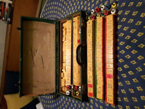 Mahjong  complete set 1950's