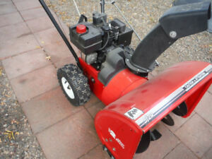 snow blower - 5 h.p.  24 in. electric start ...........