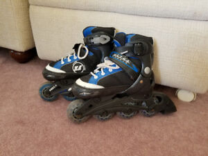 Rollerblades - size 10-13 (adjustable)