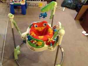 RAINFOREST JUMPEROO - GOOD CONDITION