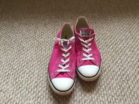 Ladies Converse All Star Low size 8