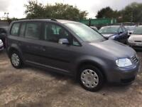 VOLKSWAGEN TOURAN 2005/54 1.9 TDI PD 100 MY S 7 SEATER DIESEL MANUAL