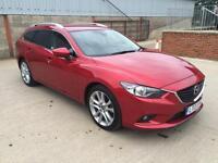 * MASSIVE SPEC NEW SHAPE * 2013 Mazda 6 2.2 DIESEL150ps ESTATE SPORT * 1 OWNER *