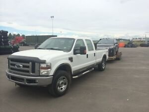 2008 Ford F-350 XLT Crew Cab Long Box For Parts