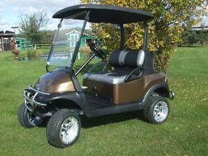 Golf car, golf cart, custom Club Car golf car