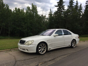Mercedes S500 with Lorinser body package