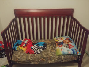 3in1 crib with Mattress