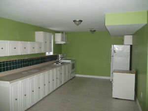 2 bdrm quiet, secure, new, large & all utilities including wifi.