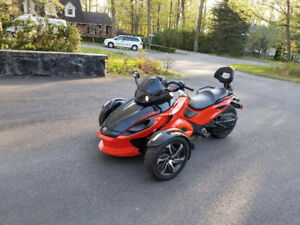 Canam spyder rss 2014