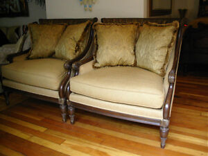 STUNNING LARGE JEFFCO CHAIRS