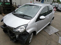 Toyota AYGO 1.0VVT-i ( 67bhp ) AYGO Ice DAMAGED REPAIRABLE SALVAGE