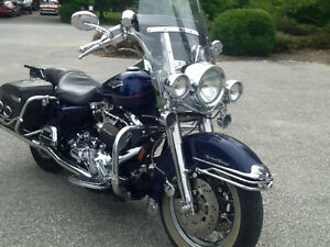 99 Road King Twin cam fuel injected 5 speed,$8,500 or best offer