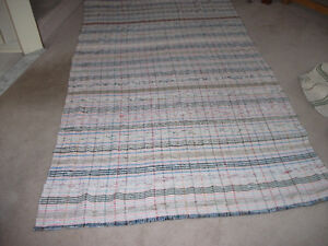 "tapis tissé/handwoven carpet 95.5"" by 59"""