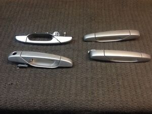 New front and rear factory silver door handles Strathcona County Edmonton Area image 1