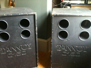 Tannoy Bass Speakers