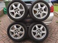 Corrado Solitude Alloy Wheels 15 inch 5x100
