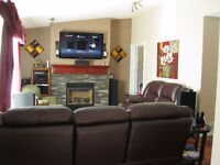 Custom Furnished Home For Short Term Rent in Nanaimo Oct-April