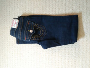 Dark Wash, Low Rise, Butt Shaping True Religion Jeans