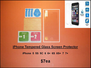 iPhone – Apple Watch.... Tempered Glass Protectors / Cases