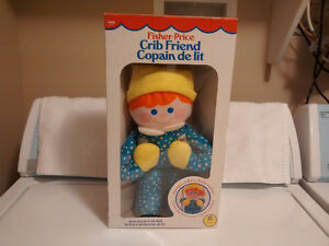 Fisher-Price Crib Friend #1350 - Year 1984 - Like New in Box