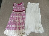 Monsoon / Matalan Girls Dress **** sold together****