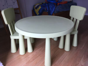 IKEA Children Table + 2 Chairs Set