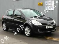 2008 RENAULT CLIO 1.2 16V Dynamique 5dr [AC] 2yrs free credit offer