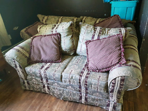 Coach and love seat