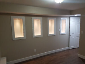 LESLIEVILLE- Newly Renovated 2 BR Basement Apartment For Rent