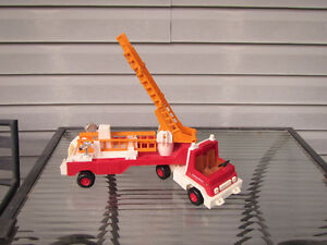 Vintage Fisher Price Fire Truck w/ladders Strathcona County Edmonton Area image 1
