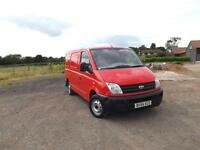 LDV Maxus swb low roof 2007/56 ** VERY LOW MILEAGE 36k WITH HISTORY **
