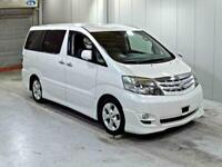 2005 TOYOTA ALPHARD CAMPER VAN ,MOTORHOME,~NEW SIDE KITCHEN~POPTOP ROOF~4 BERTH~