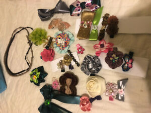 handmade girls hair accesories