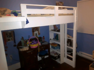 Loft twin bed sold