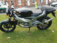Aprilia RS125 Street Fighter Tuned PX Swap UK delivery