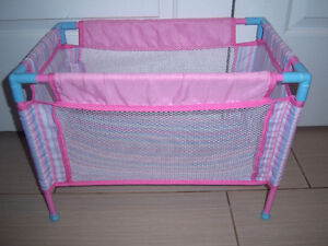 YOU AND ME DOLL PLAYPEN WITH STORAGE BAG