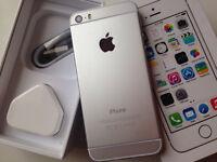 iPhone 5s 16gb silver ( t-mobile orange virgin EE )