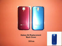 Galaxy S4 / S5 .... Replacement Back Panels